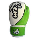 PU handschoenen Hit'em Series groen / wit_