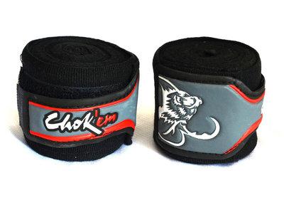 Bandages zwart met rubberen sluiting